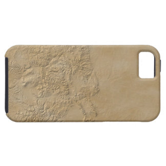Topographic Map of Colorado 2 iPhone 5 Cases