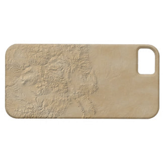 Topographic Map of Colorado 2 iPhone 5 Cover