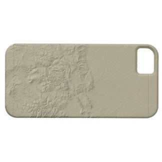 Topographic Map of Colorado Barely There iPhone 5 Case