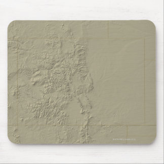 Topographic Map of Colorado Mousepads