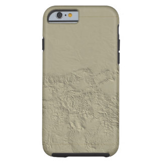 Topographic Map of Colorado Tough iPhone 6 Case