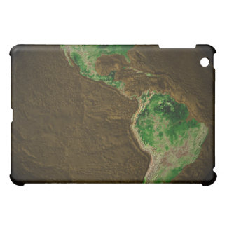 Topographic Map of Earth iPad Mini Covers