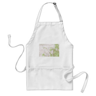 Topographic Map Standard Apron