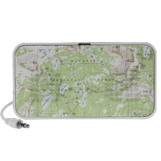 Topographic Map Travel Speaker