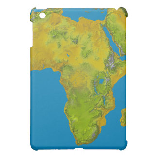 Topographic view of Africa Cover For The iPad Mini