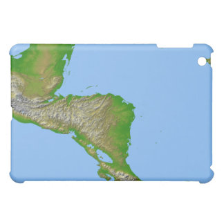 Topographic view of Central America iPad Mini Covers