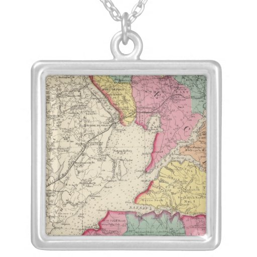 Topographical atlas of Maryland counties 2 Necklaces