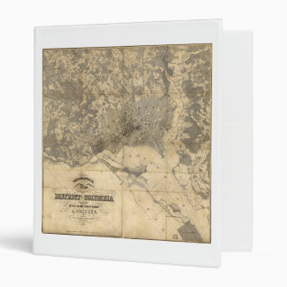 Topographical Map of District of Columbia (1861) Binders