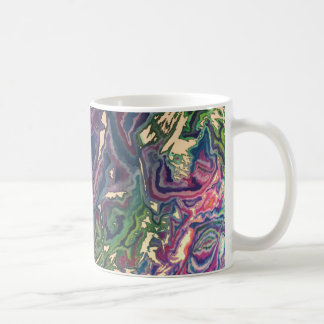 Topographical Tissue Paper Art Mug I