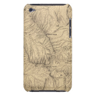 Topography TruckeeDonner Pass Region, California iPod Case-Mate Case