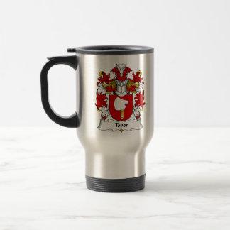Topor Family Crest Travel Mug