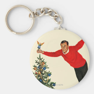Topping the Tree Key Chains