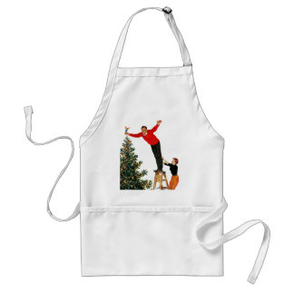 Topping the Tree Standard Apron