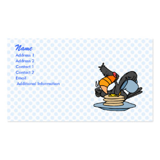 Topple Toucan Business Card Templates