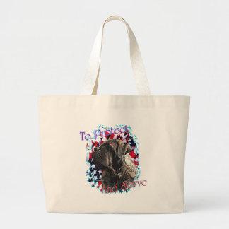 ToProtectandServe Large Tote Bag