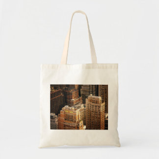 Tops of New York City Skyscrapers Canvas Bag