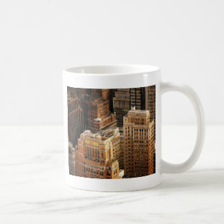 Tops of New York City Skyscrapers Classic White Coffee Mug