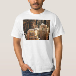Tops of New York City Skyscrapers T Shirts