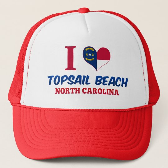 Topsail Beach, North Carolina Trucker Hat