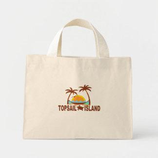 Topsail Island. Canvas Bags