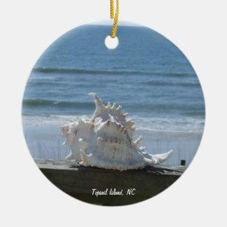 Topsail Island, NC Christmas Ornament
