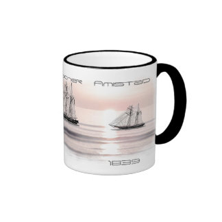 Topsail Schooner 1839 Coffee Mugs