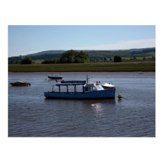Topsham Turf ferry, Topsham, Devon, UK Postcard