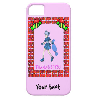 Topsy toffee and a giant toffee barely there iPhone 5 case