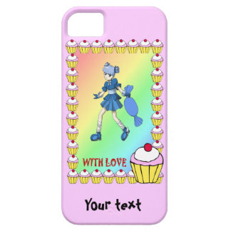 Topsy toffee and cupcakes iPhone 5 case