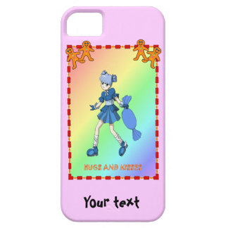 Topsy toffee and gingerbread men iPhone 5 cases