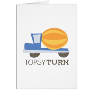 Topsy Turn Card