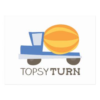 Topsy Turn Postcard