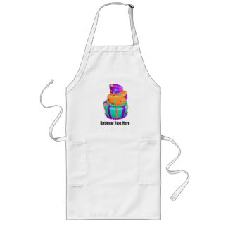 Topsy Turvy Fancy Cake Long Apron