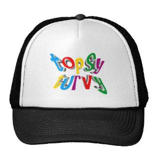 topsy turvy mesh hat