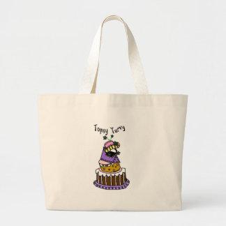 Topsy Turvy Jumbo Tote Bag