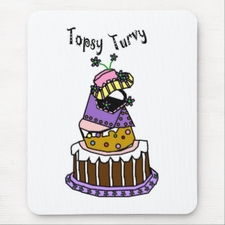 Topsy Turvy Mouse Pad