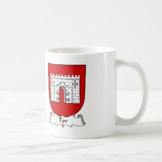 Tor Family Crest Basic White Mug