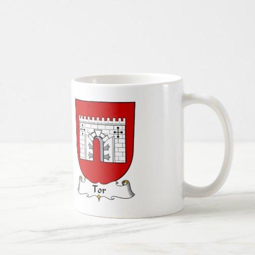 Tor Family Crest Coffee Mug
