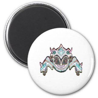 TORABORA DRYFLY Smiling Monster Fridge Magnet