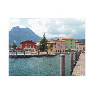 Torbole, Lake Garda canvas print