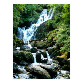Torc Falls Killarney Ireland Postcard