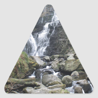 Torc Waterfall, Killarney Ireland Triangle Sticker