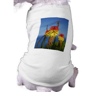 Torch lilies sleeveless dog shirt