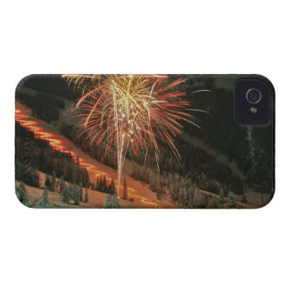 Torchlight parade and fireworks during Winter Case-Mate iPhone 4 Case