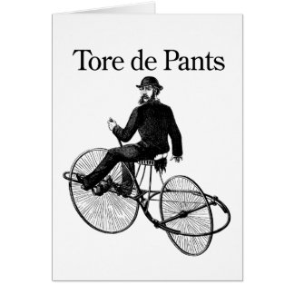 Tore de Pants Card