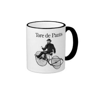 Tore de Pants Ringer Mug