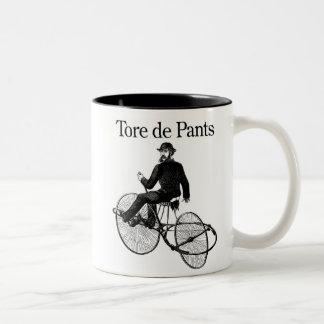 Tore de Pants Two-Tone Mug