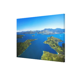 Torea Bay, Queen Charlotte Sound, Marlborough Canvas Print