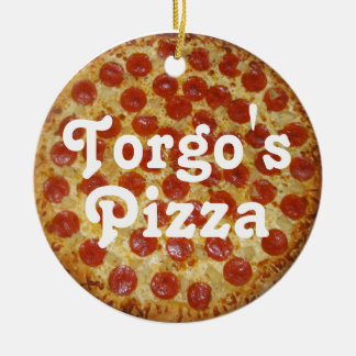 Torgo's Pizza Christmas Ornament