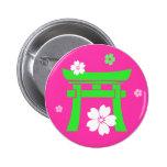 Torii (green & orange) badges